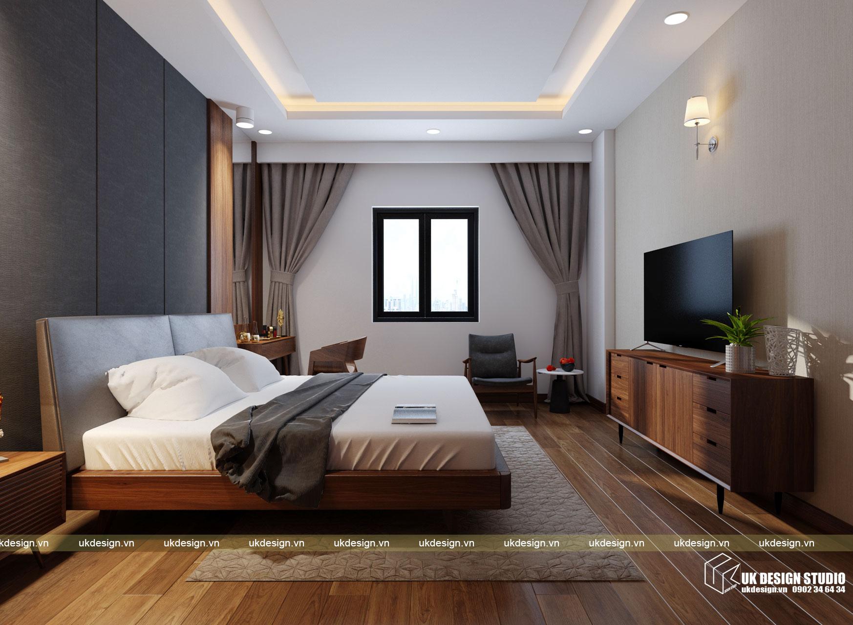 Thiết kế nội thất nhà phố 4m 16
