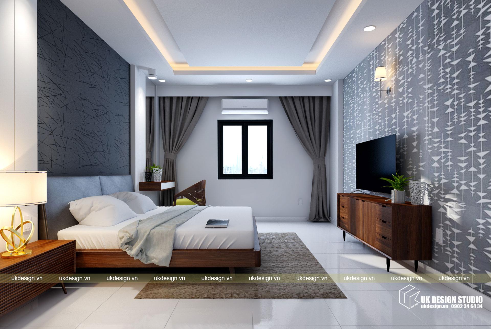 Thiết kế nội thất nhà phố 4m 18