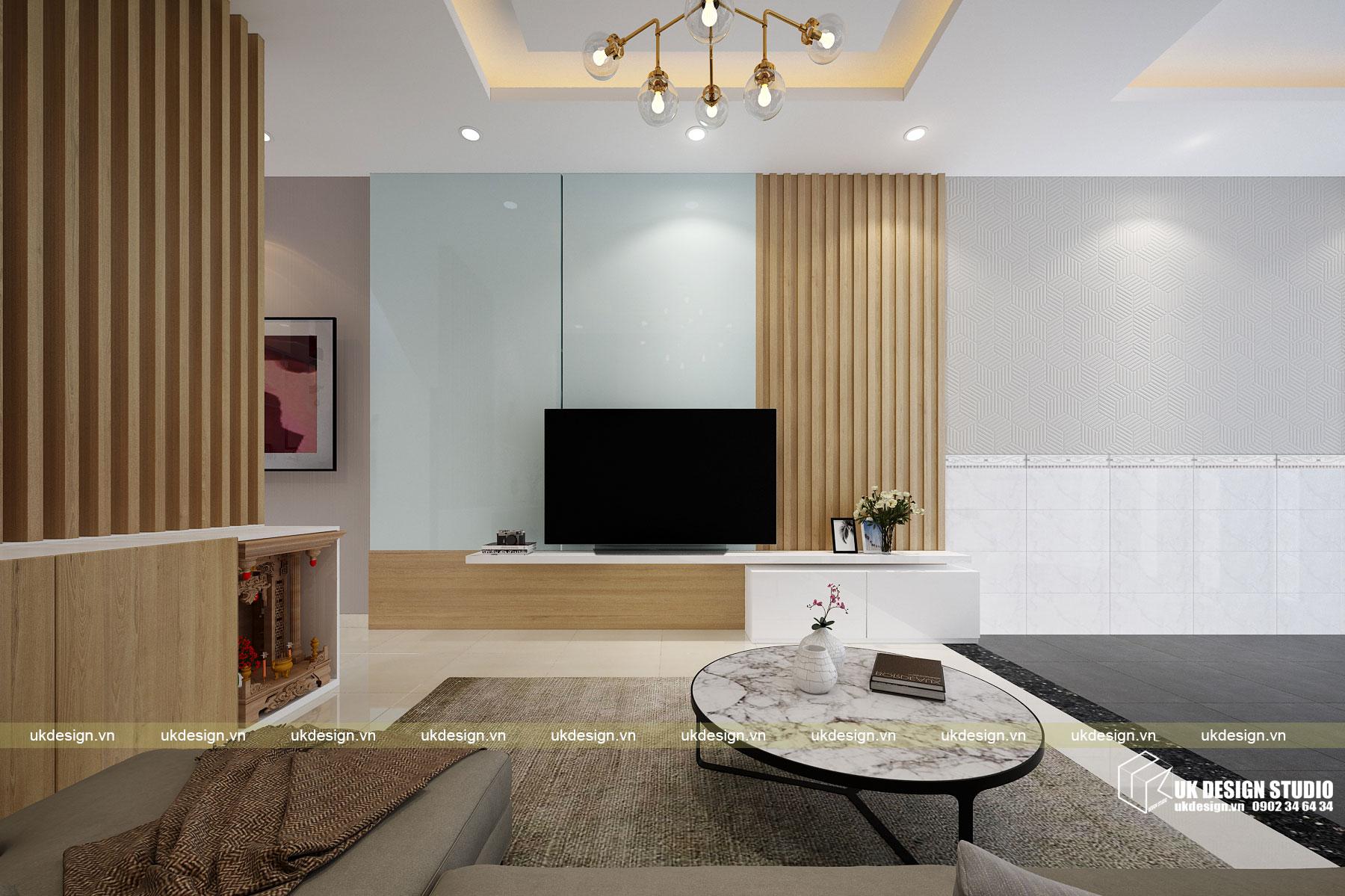 Thiết kế nội thất nhà phố 4m 3