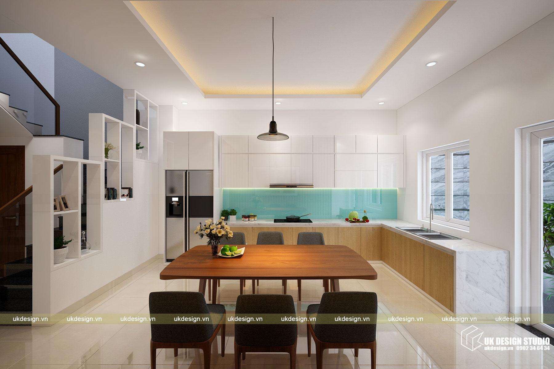 Thiết kế nội thất nhà phố 4m 6