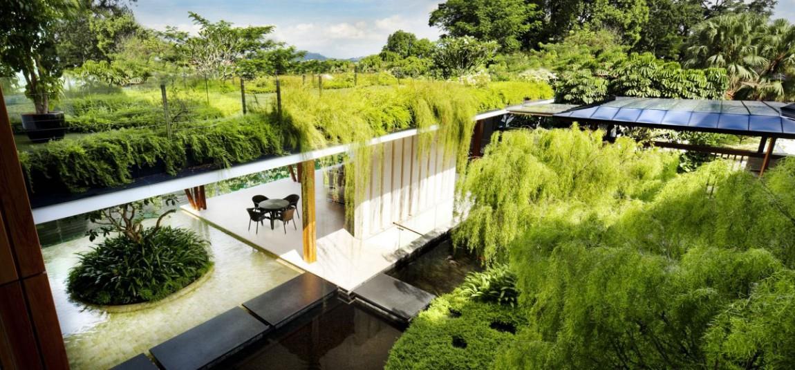 nha dep nuoc ngoai The Willow House 04 - The Willow House – một ngồi nhà có linh hồn với hơi thở từ những luồng gió tự nhiên