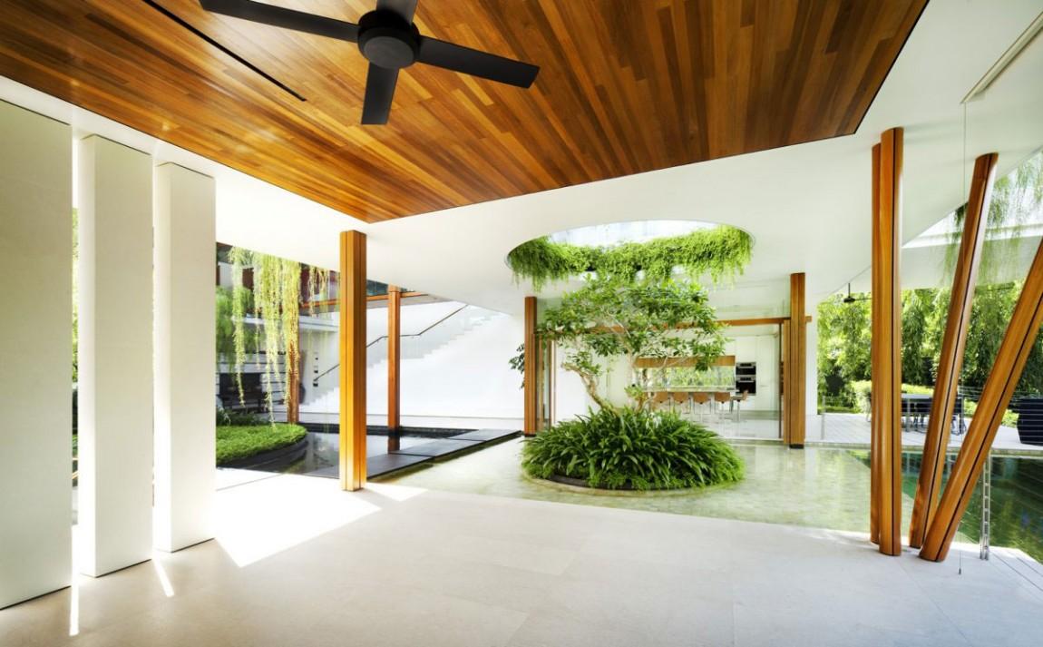 nha dep nuoc ngoai The Willow House 10 - The Willow House – một ngồi nhà có linh hồn với hơi thở từ những luồng gió tự nhiên
