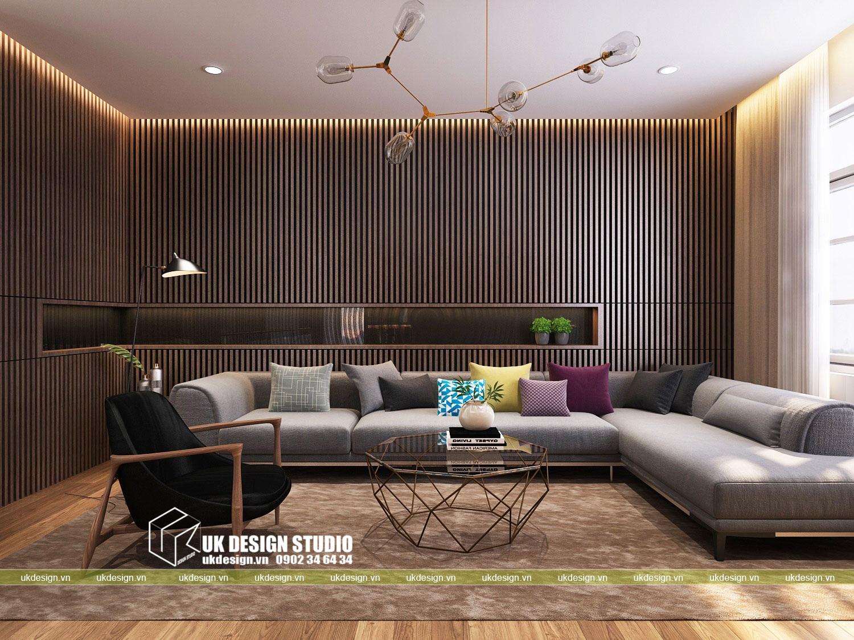 Thiết kế nội thất biệt thự hiện đại 500m2 - 5