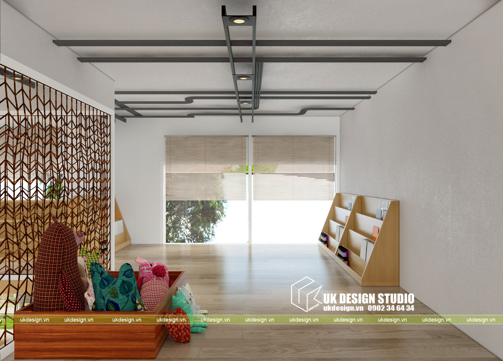 Thiết kế nội thất nhà trẻ 11