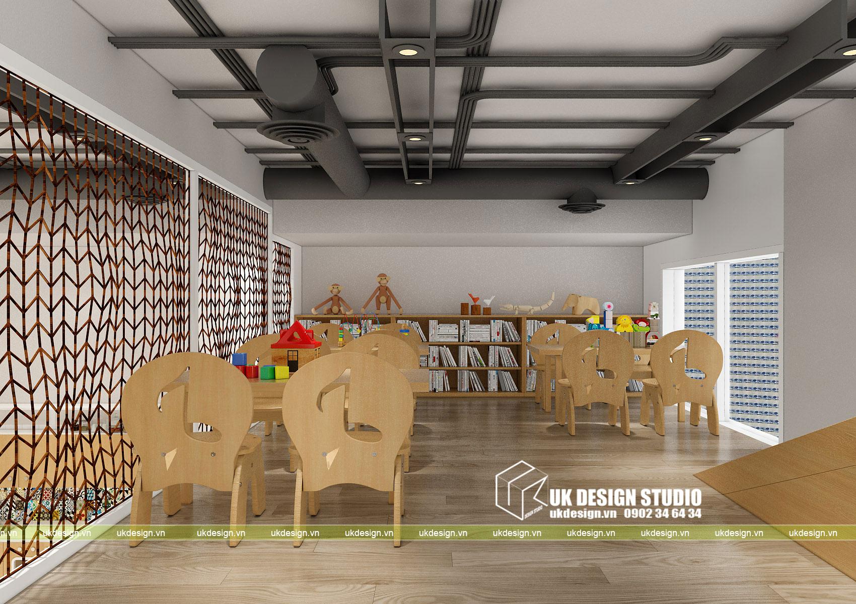 Thiết kế nội thất nhà trẻ 12
