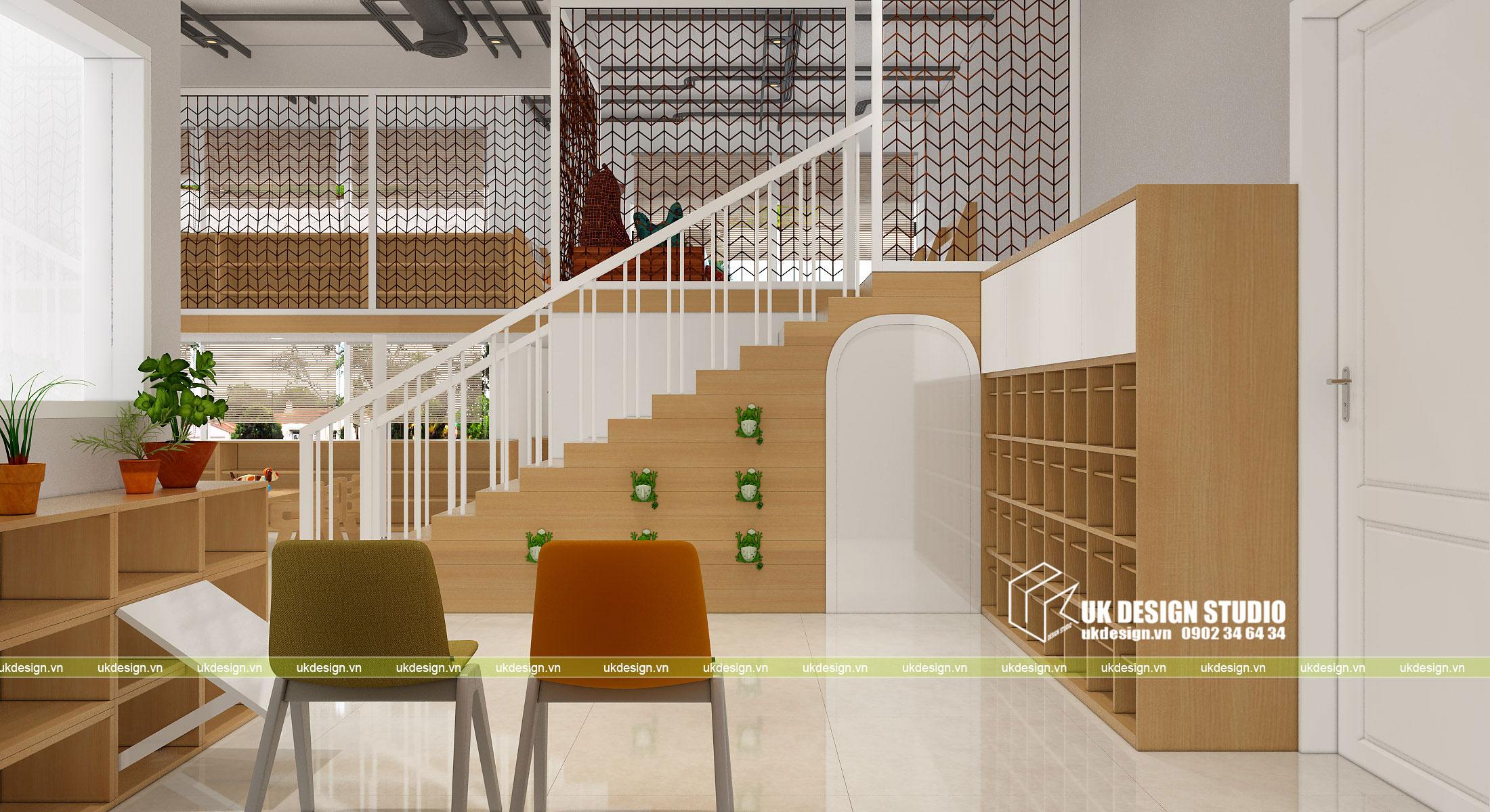 Thiết kế nội thất nhà trẻ 2