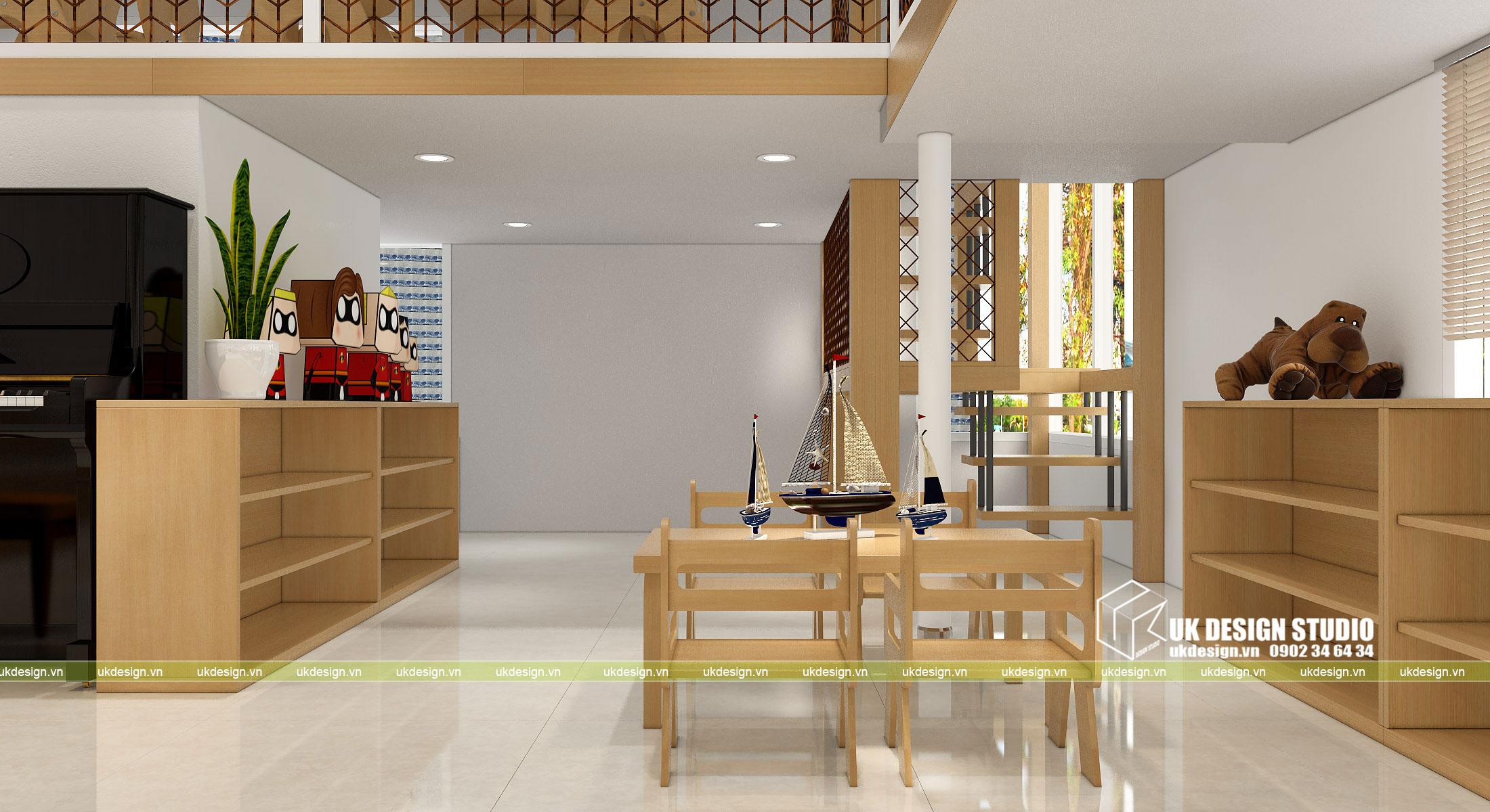 Thiết kế nội thất nhà trẻ 6