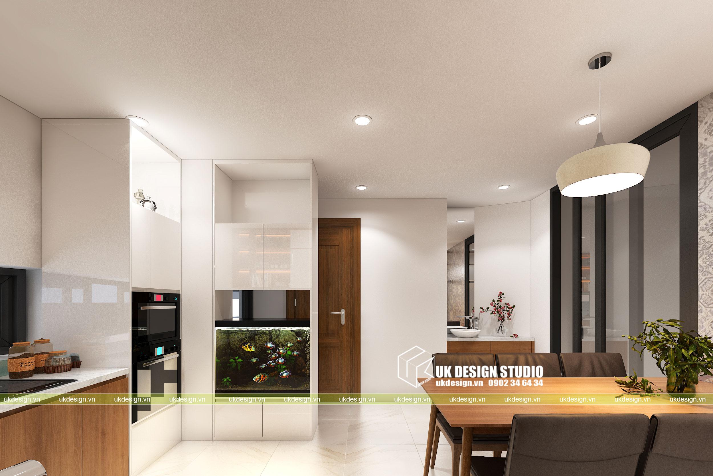 Thiết kế nội thất nhà phố 4m