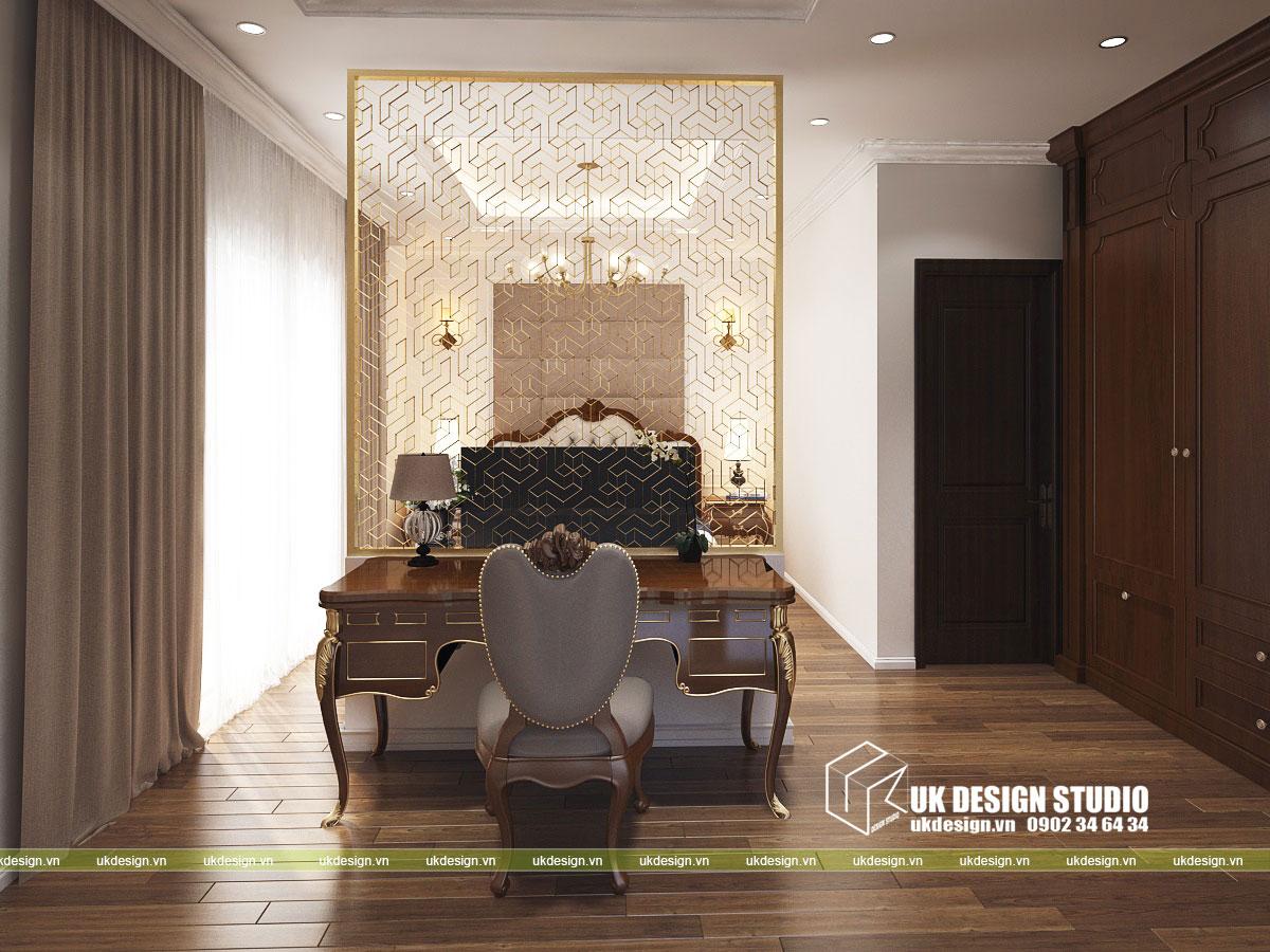 Thiết kế nội thất biệt thự cổ điển 12