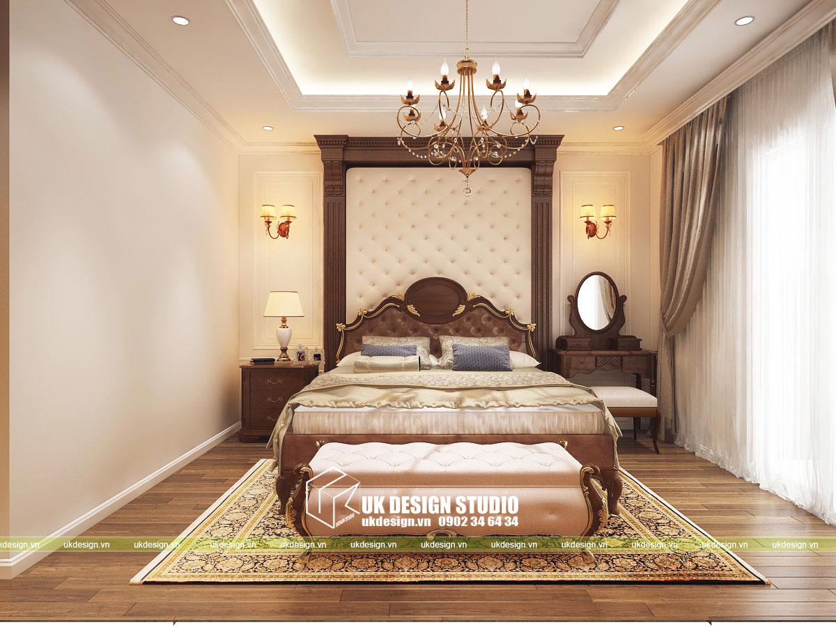 Thiết kế nội thất biệt thự cổ điển 9