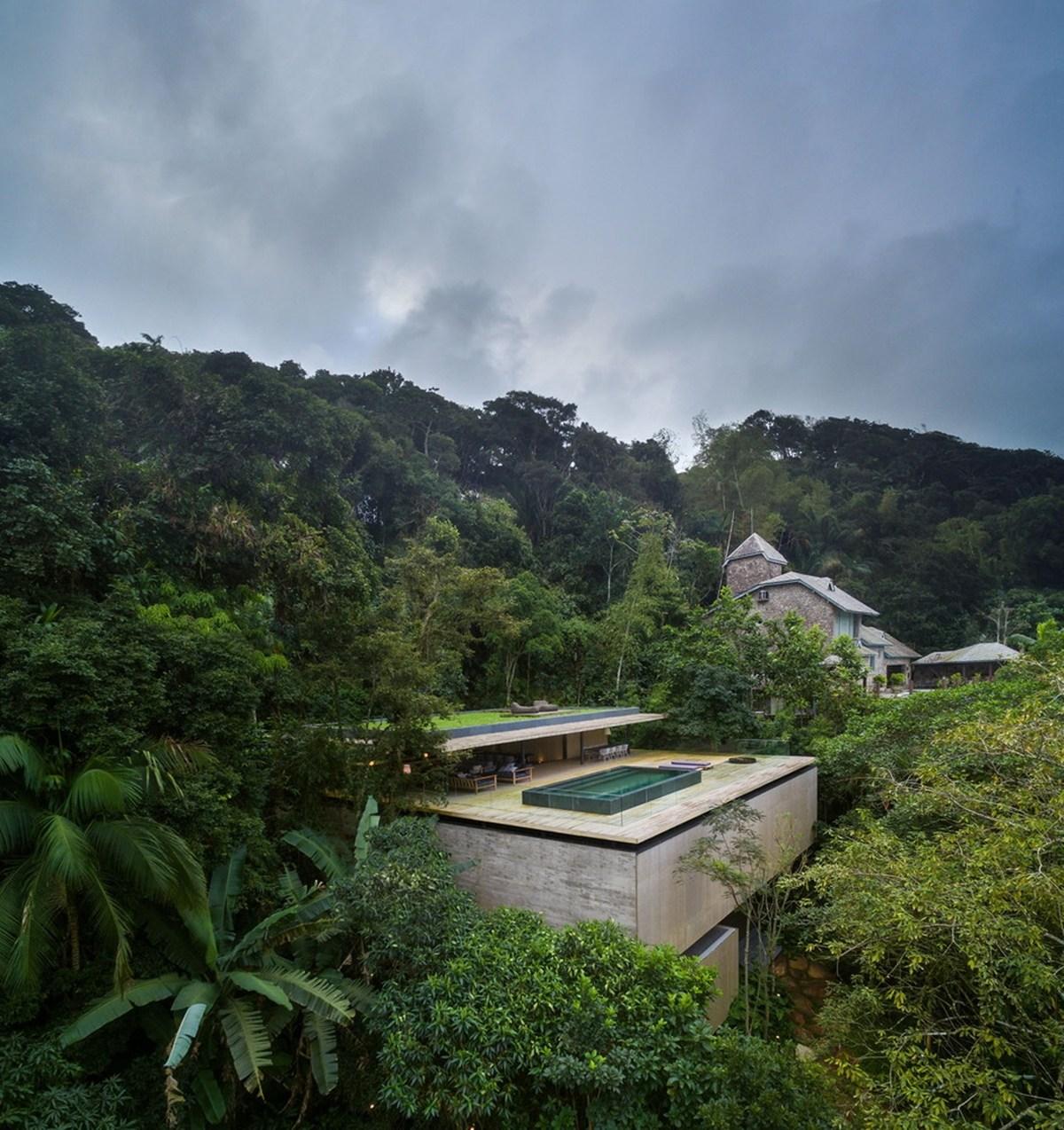 Nhà đẹp nước ngoài - jungle house 1