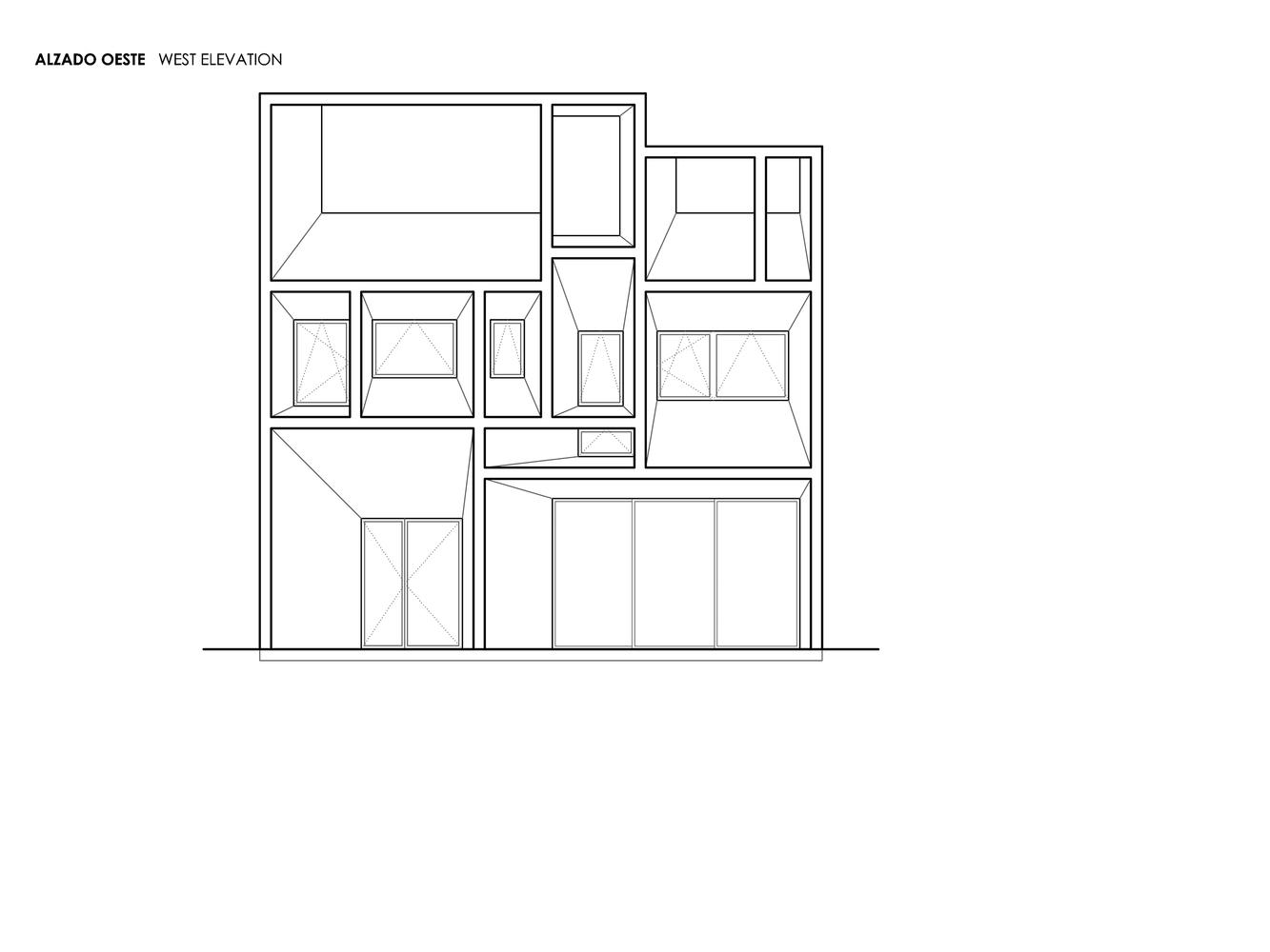 Mặt bằng biệt thự 300m2 - Brise Soleil House 1