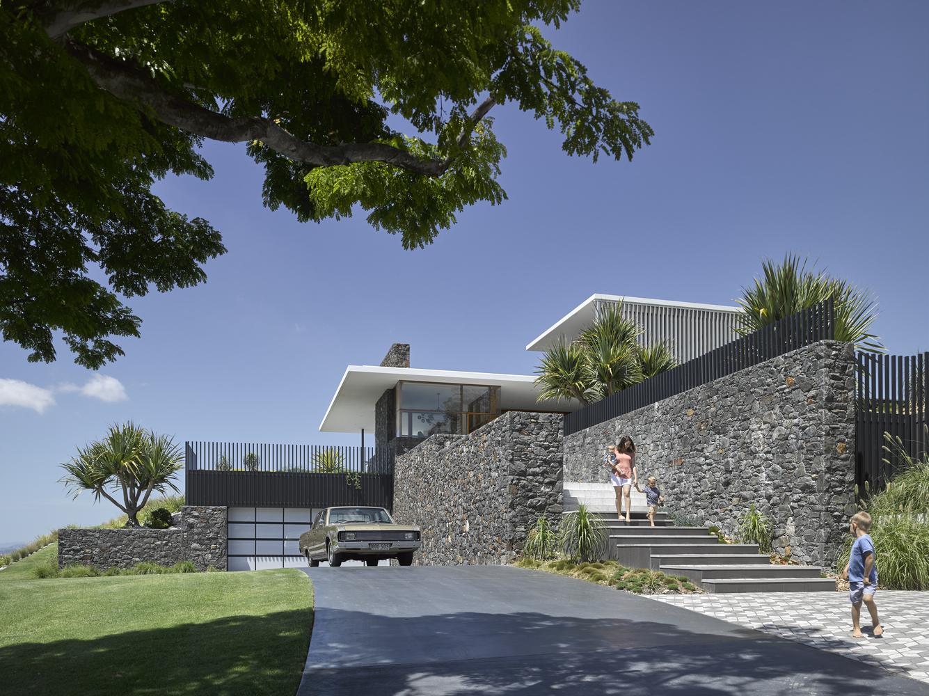 Nhà đẹp nước ngoài- Rocky house 1