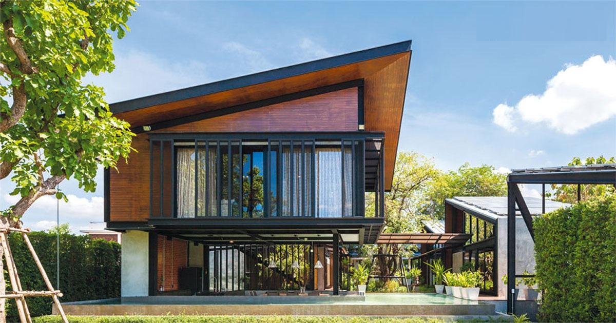 Steel House – Ngôi biệt thự hoà quyện với thiên nhiên