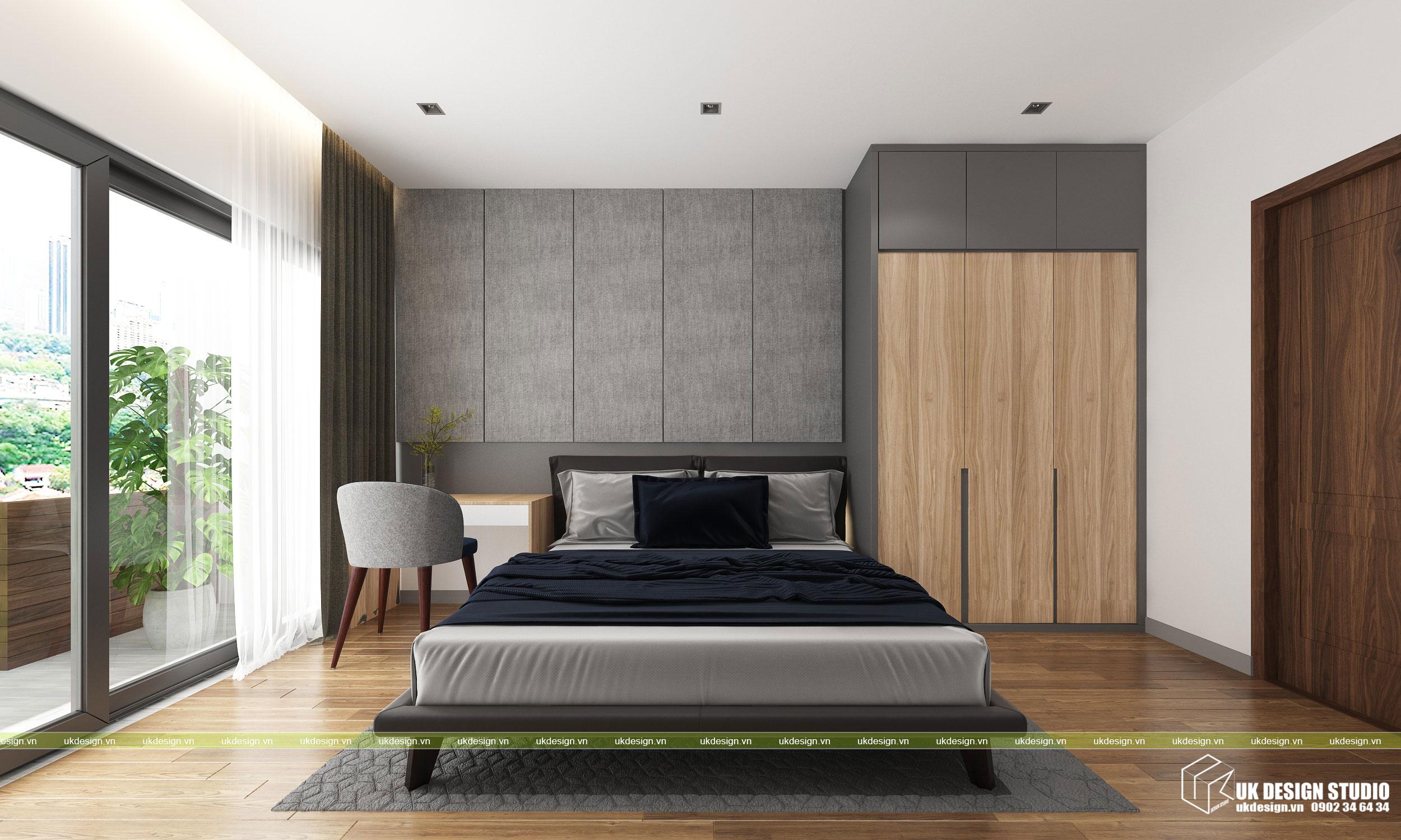 Thiết kế nội thất nhà phố 2 tầng 5