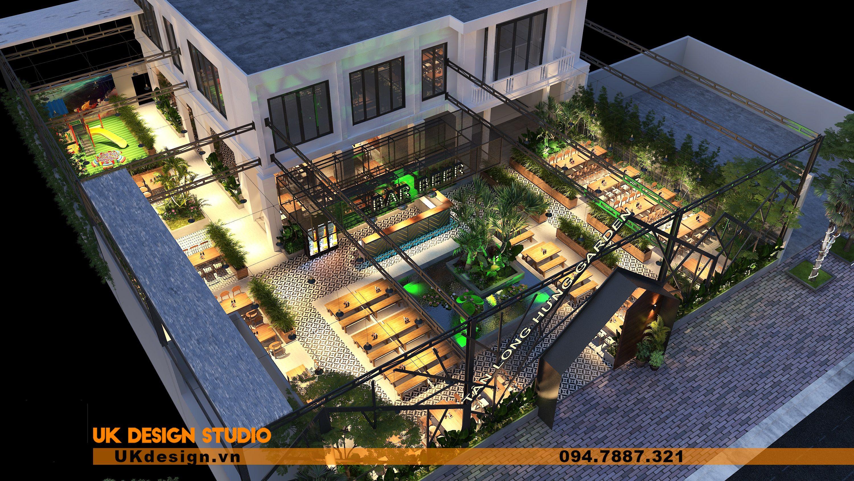 Thiết kế Beer Garden TÂN LONG HƯNG ở Vũng Tàu 8