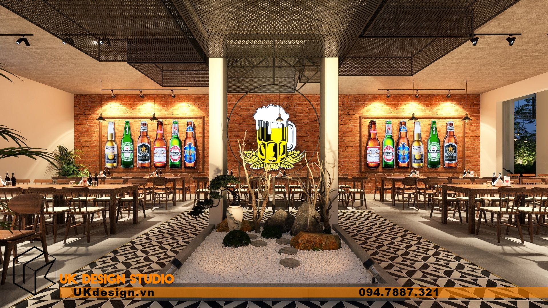 Thiết kế Beer Garden TÂN LONG HƯNG ở Vũng Tàu 19
