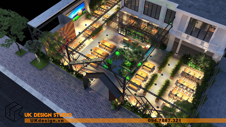 Thiết kế Beer Garden TÂN LONG HƯNG ở Vũng Tàu 7