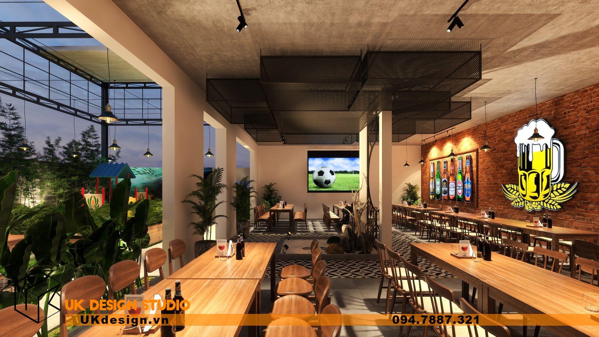 Thiết kế Beer Garden TÂN LONG HƯNG ở Vũng Tàu 22