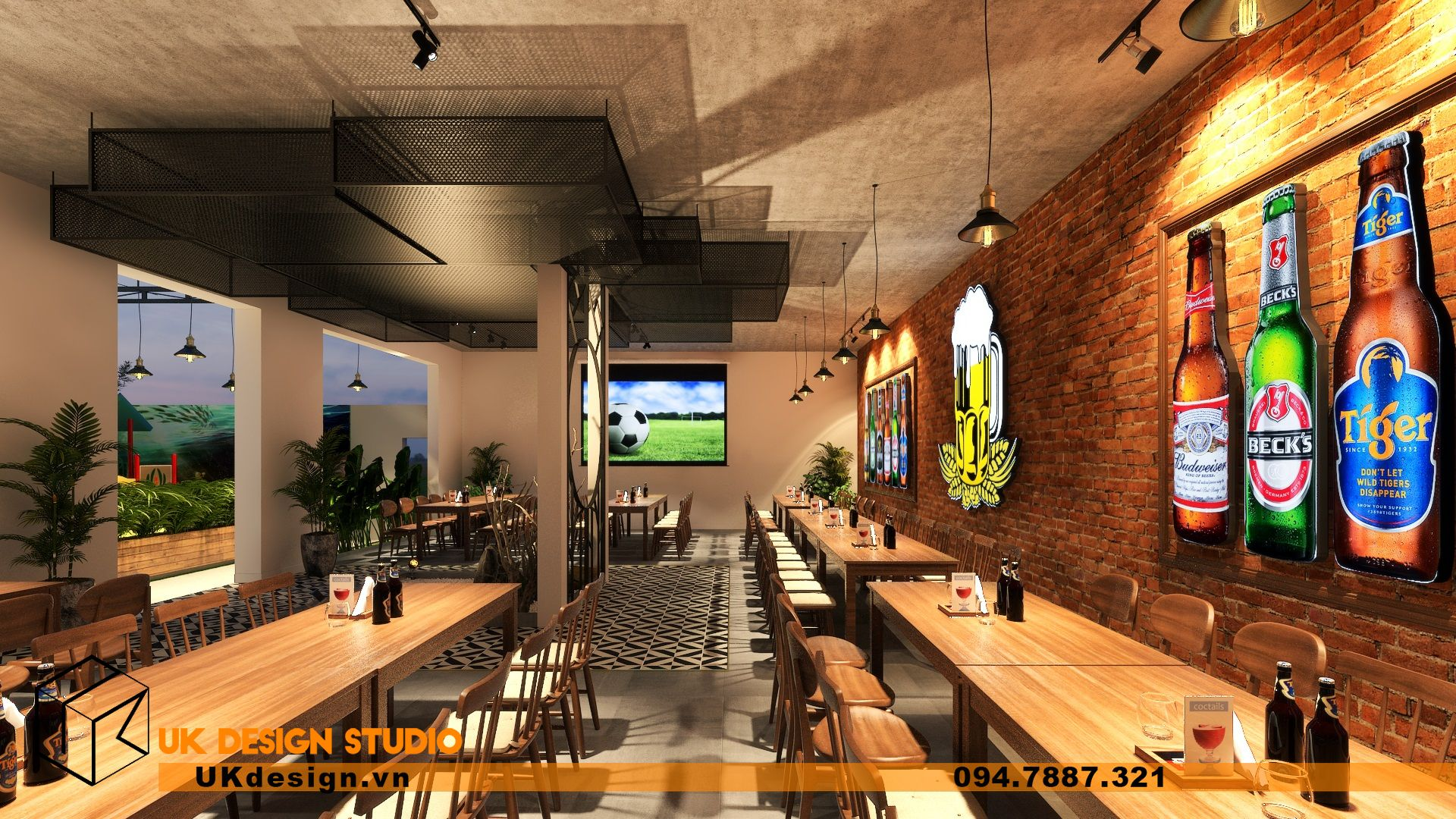 Thiết kế Beer Garden TÂN LONG HƯNG ở Vũng Tàu 23