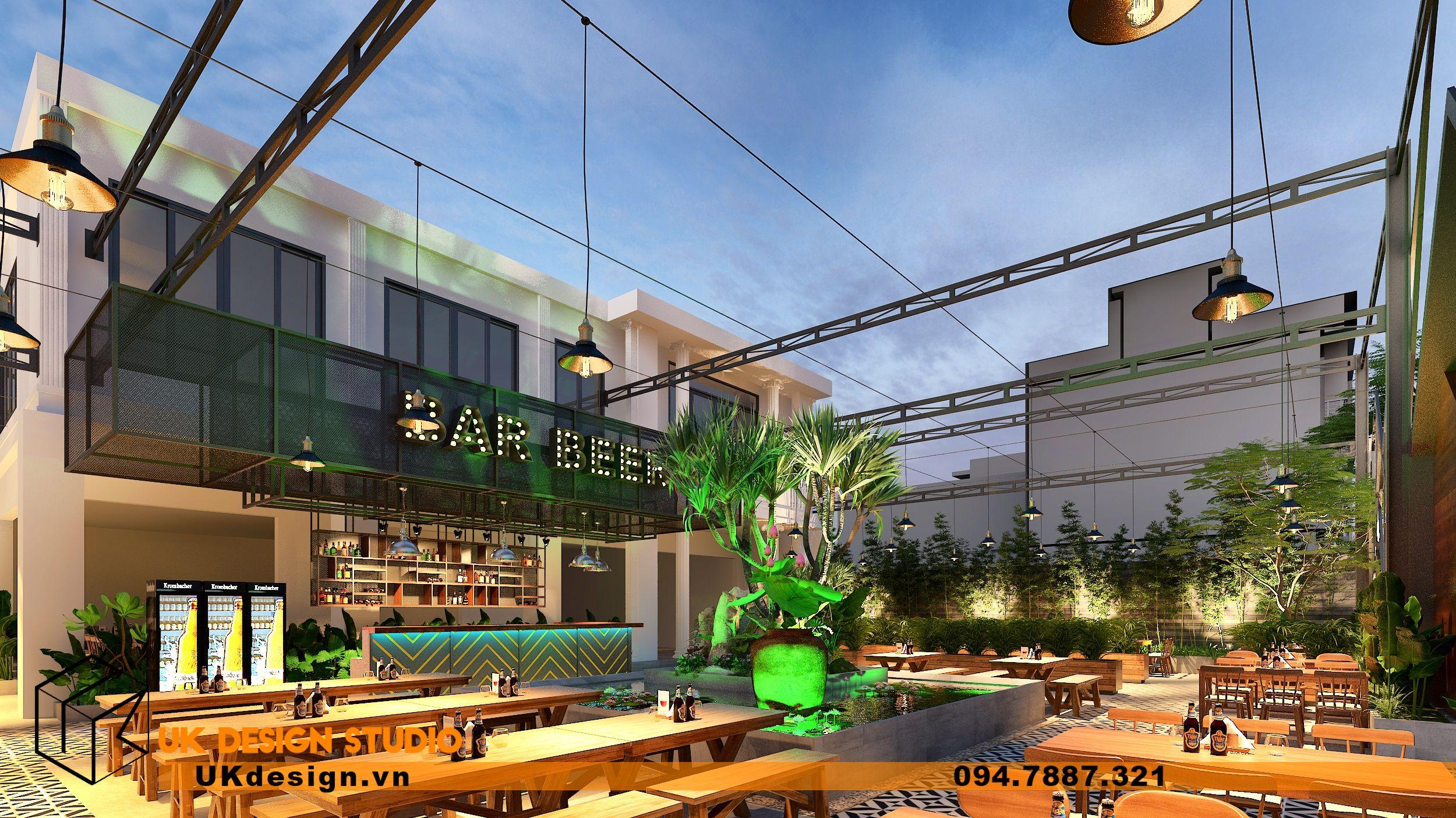 Thiết kế Beer Garden TÂN LONG HƯNG ở Vũng Tàu 3