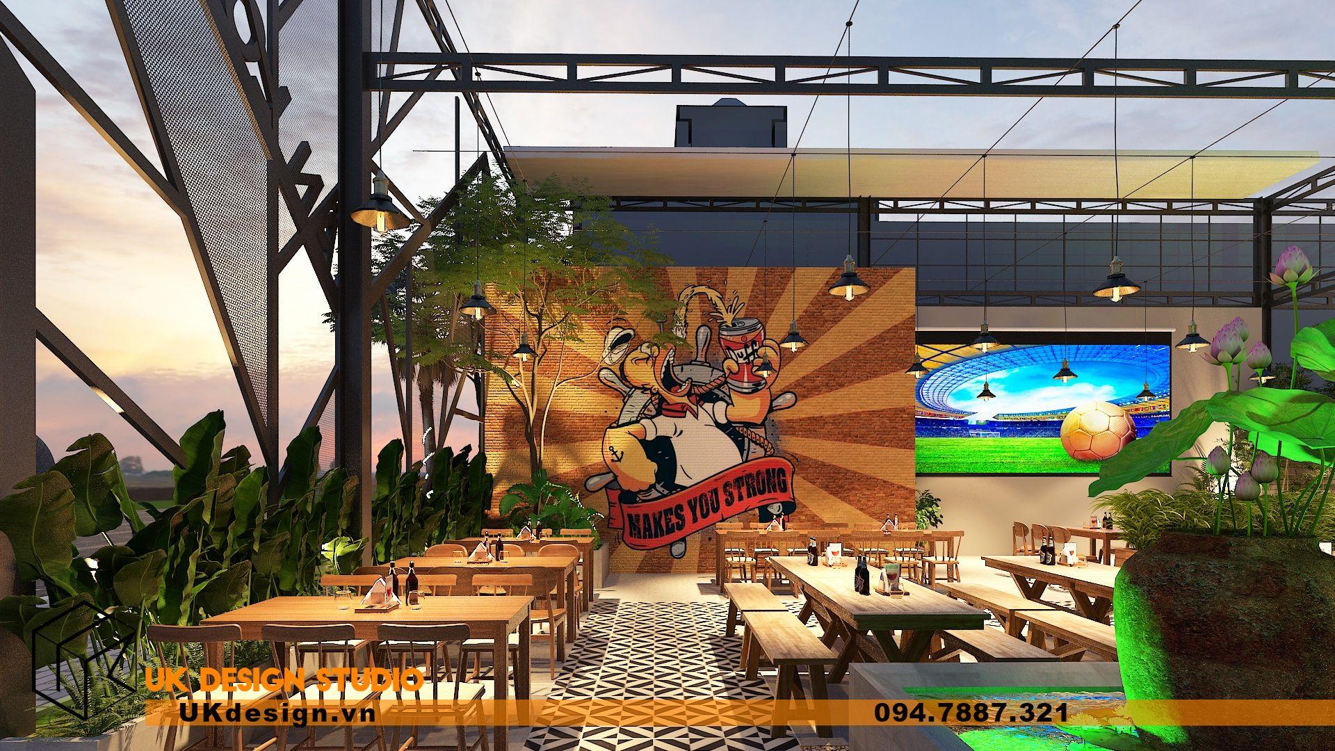 Thiết kế Beer Garden TÂN LONG HƯNG ở Vũng Tàu 5