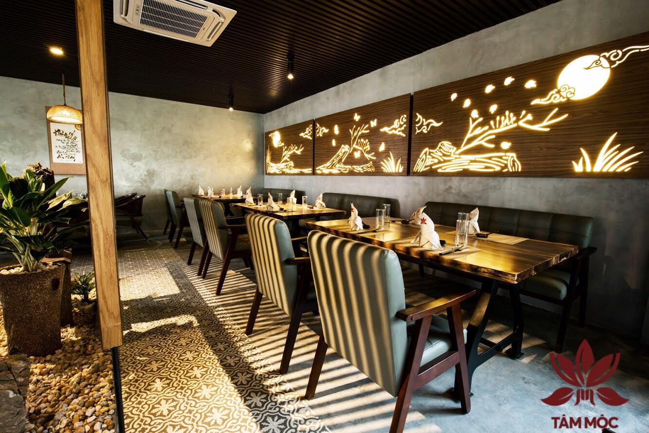 Thiết kế Nhà hàng Chay TÂM MỘC 016