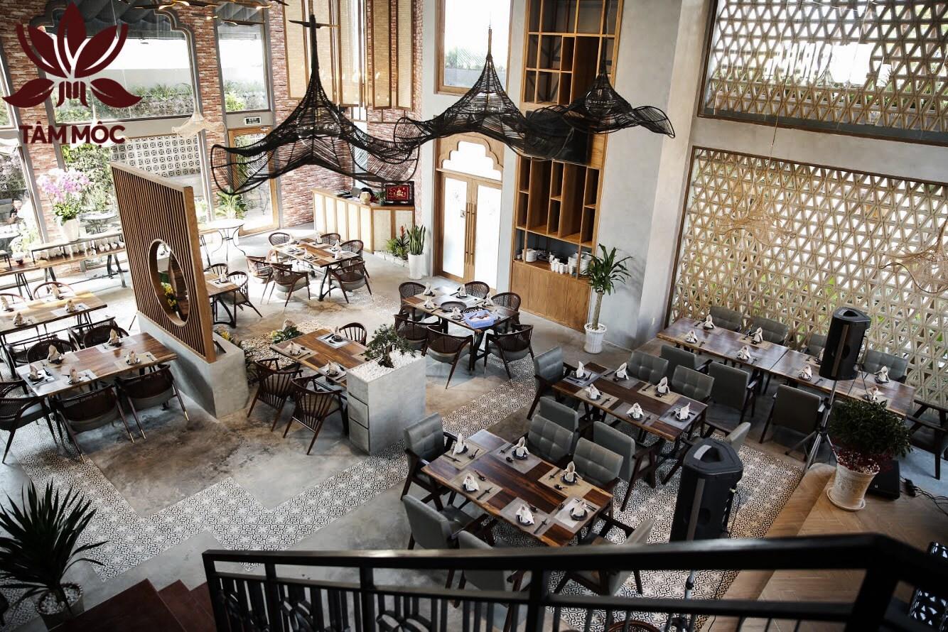 Thiết kế Nhà hàng Chay TÂM MỘC 015