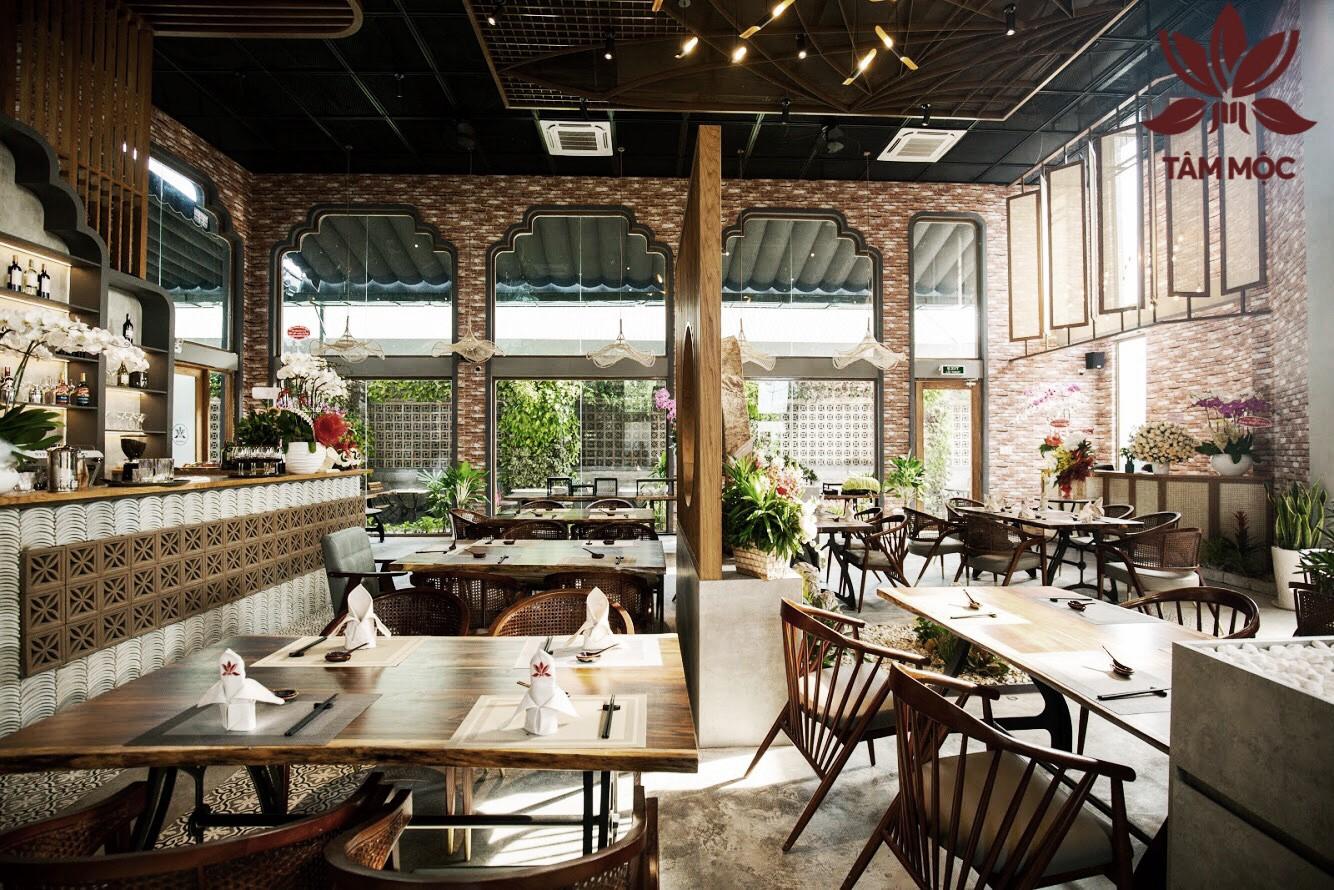 Thiết kế Nhà hàng Chay TÂM MỘC 013