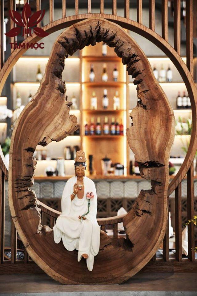 Thiết kế Nhà hàng Chay TÂM MỘC 07