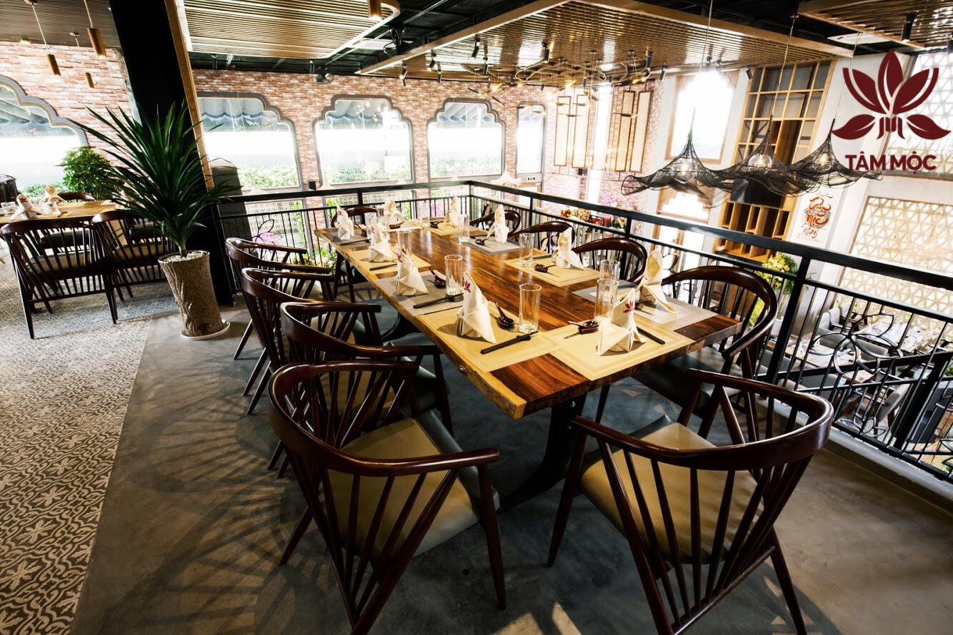 Thiết kế Nhà hàng Chay TÂM MỘC 03