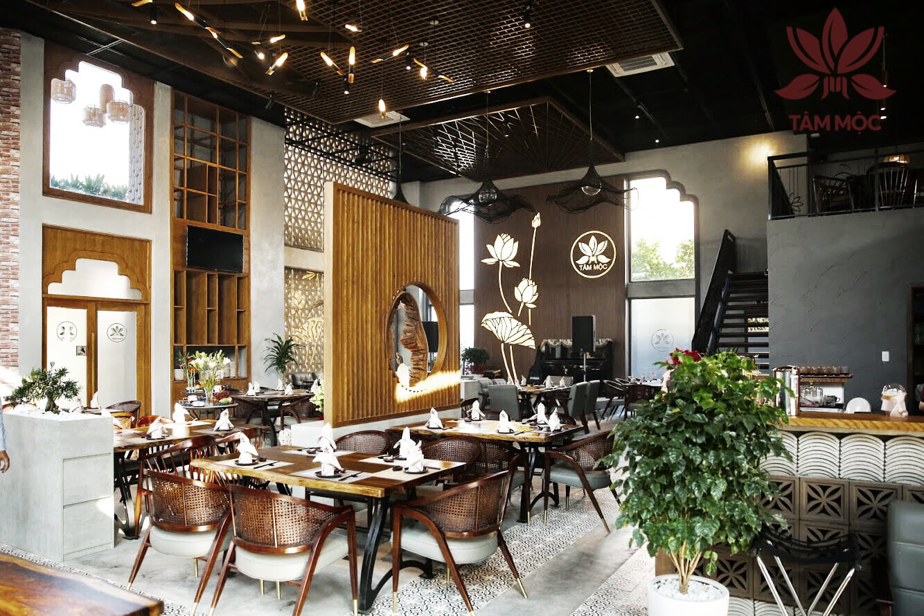 Thiết kế Nhà hàng Chay TÂM MỘC 05
