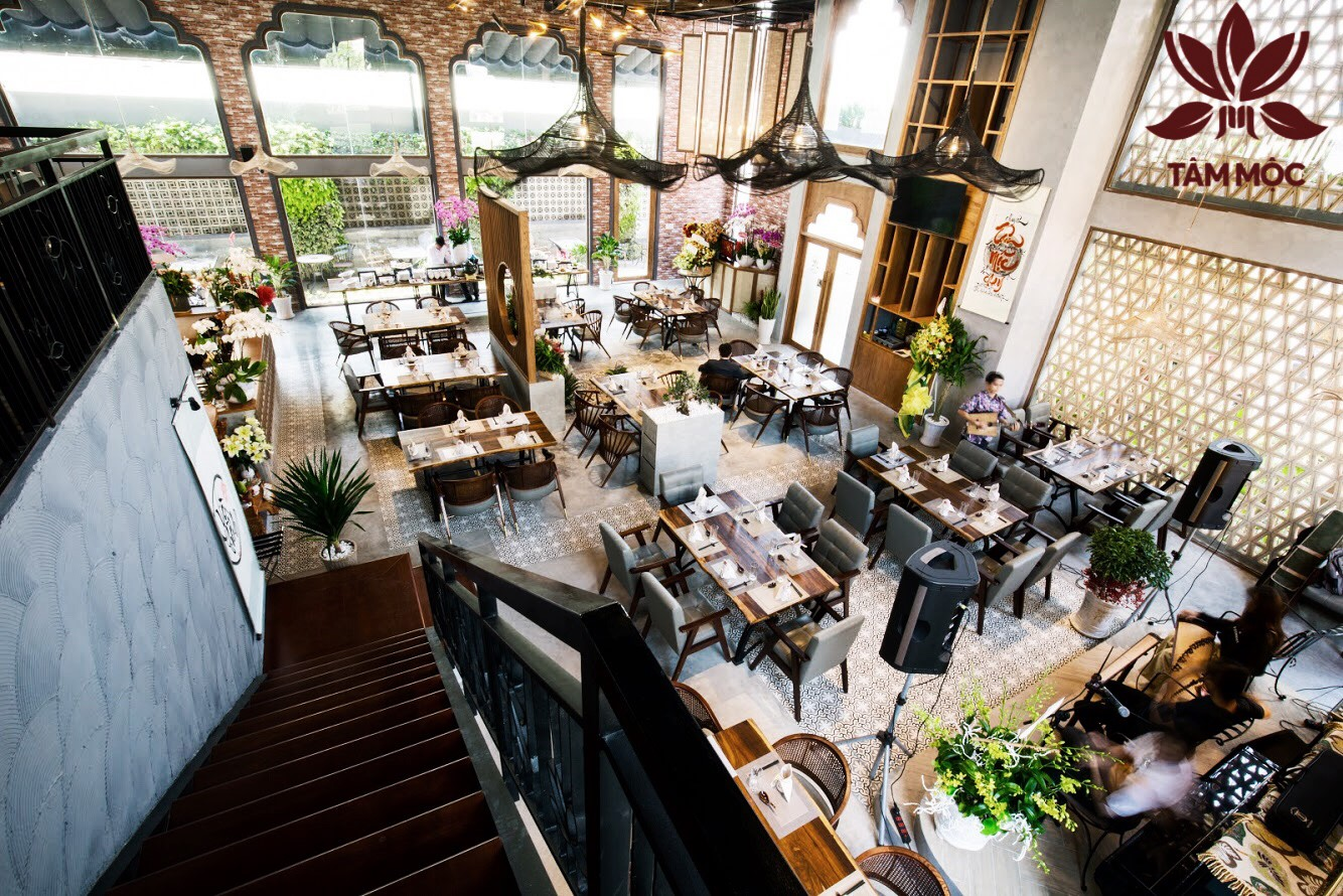 Thiết kế Nhà hàng Chay TÂM MỘC 022
