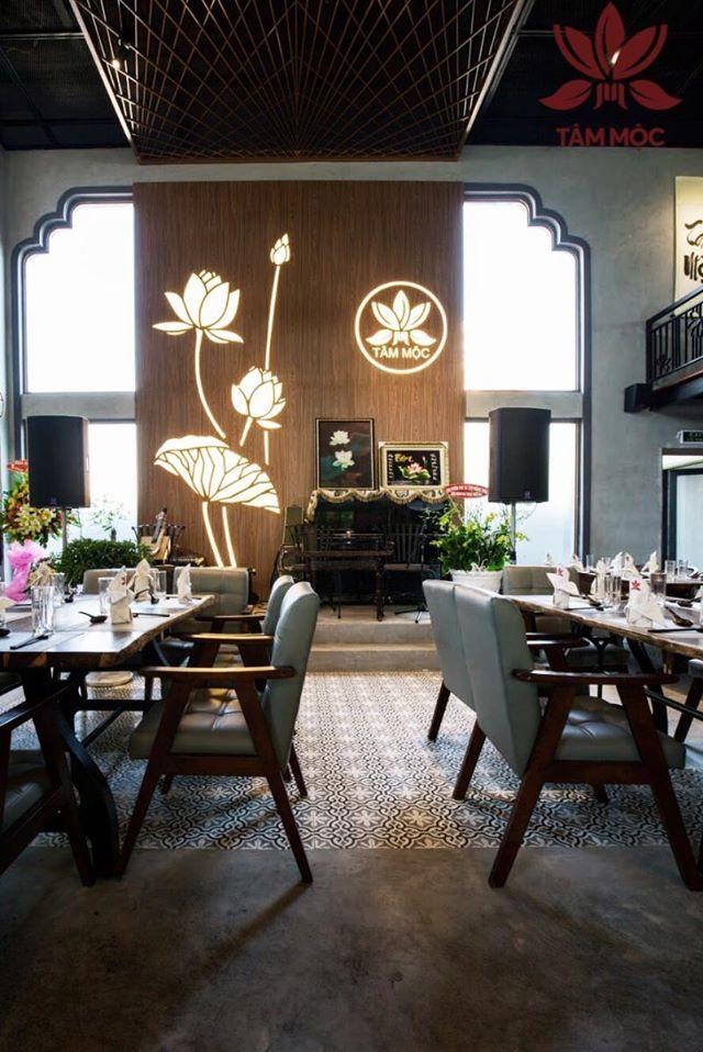 Thiết kế Nhà hàng Chay TÂM MỘC 020