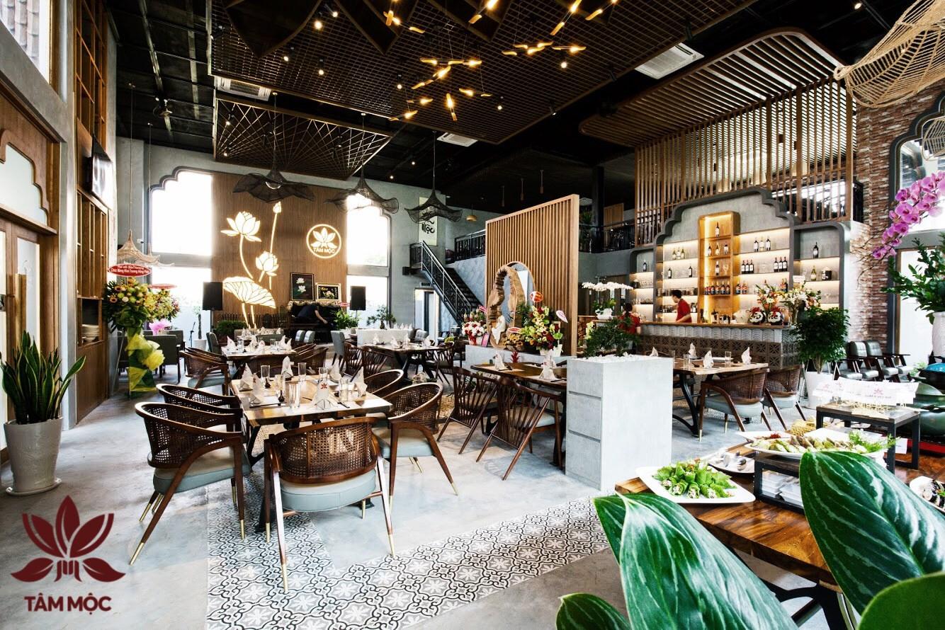 Thiết kế Nhà hàng Chay TÂM MỘC 019