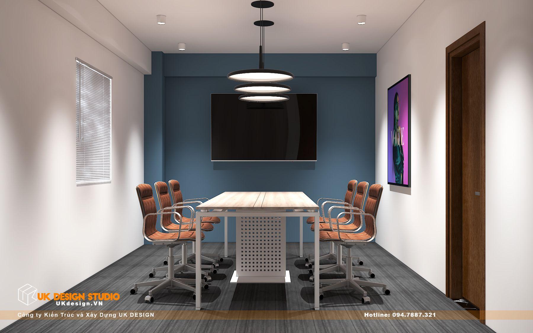 Thiết kế văn phòng làm việc hiện đại 30m2 2