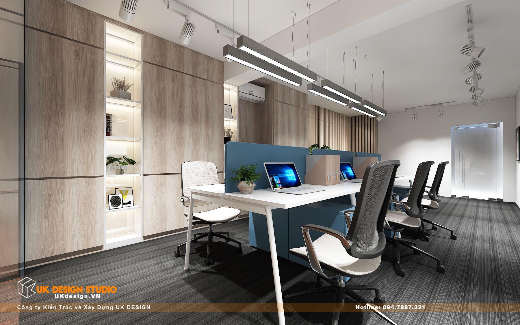 Thiết kế văn phòng làm việc hiện đại 30m2 7