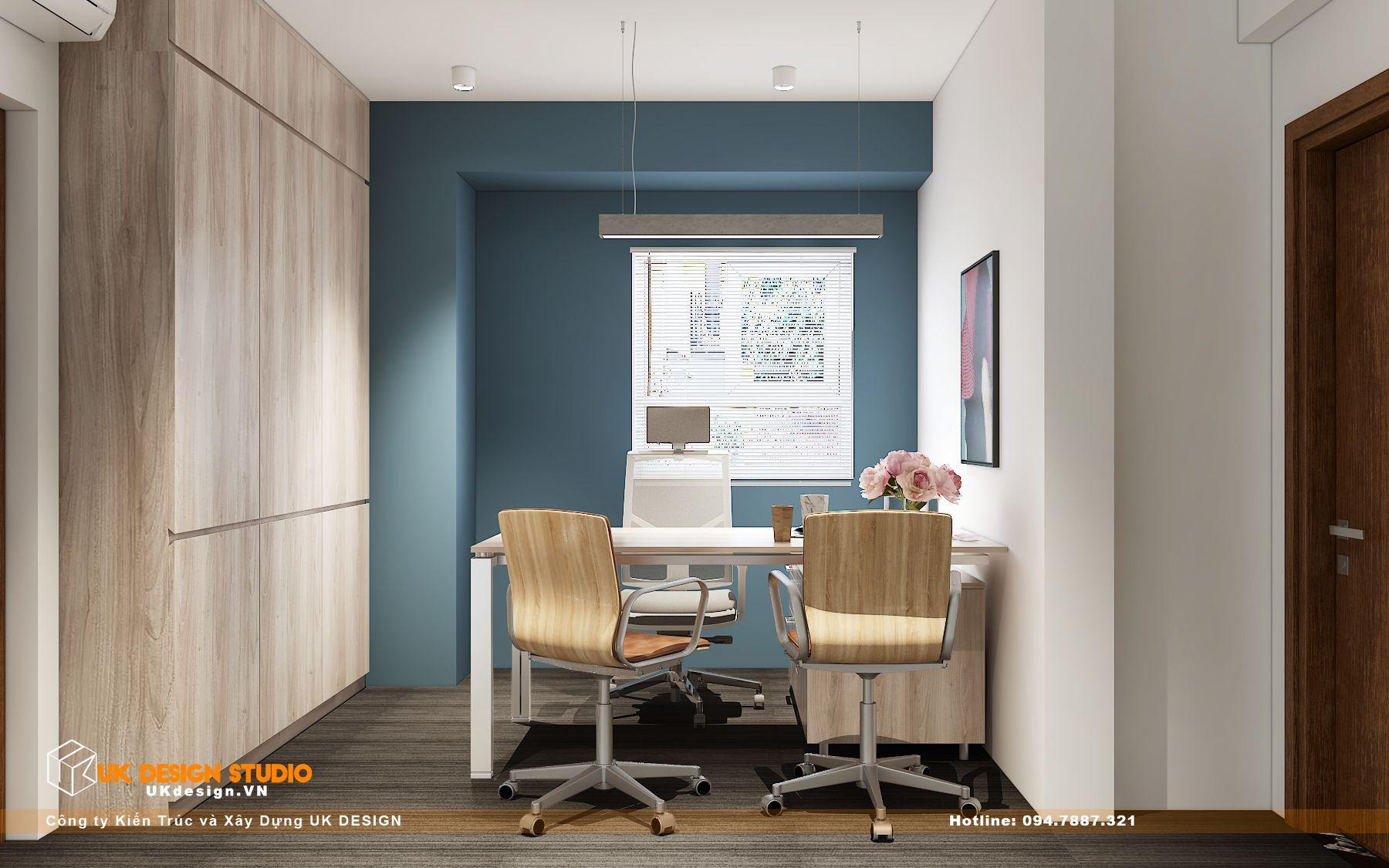 Thiết kế văn phòng làm việc hiện đại 30m2 5