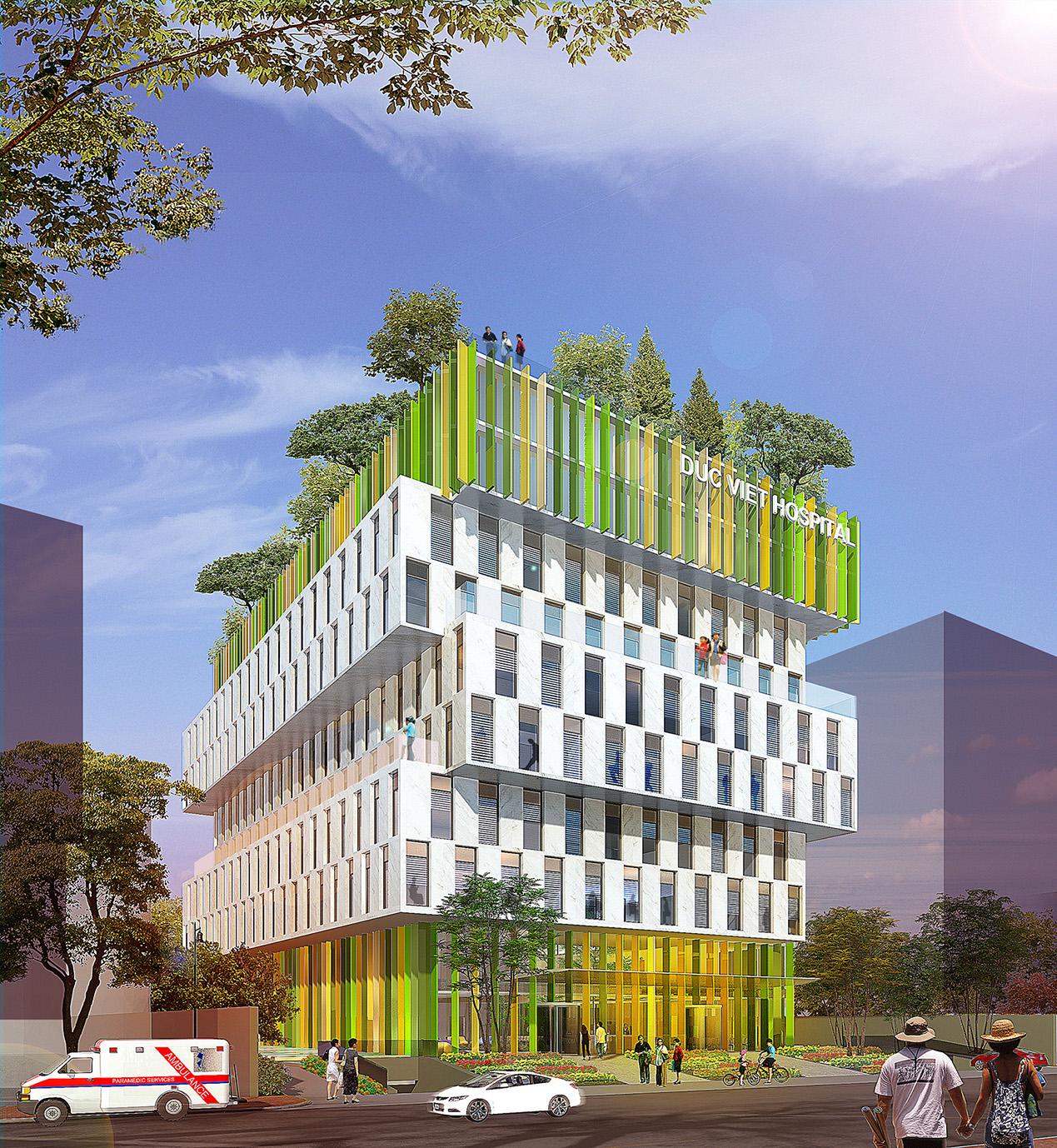Bệnh viện Đa khoa & Ung bướu / VHA Architects