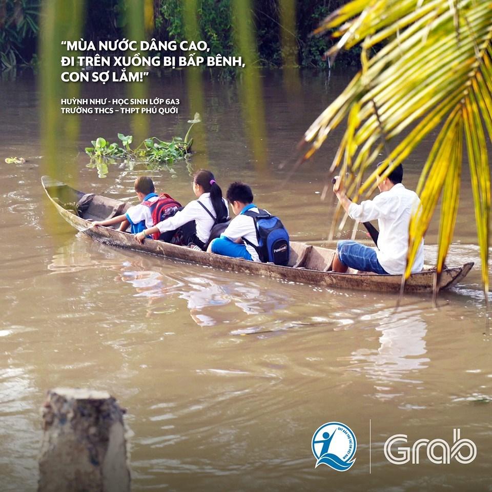 Xây cầu đến lớp / Quỹ Bảo trợ trẻ em Việt Nam + Grab