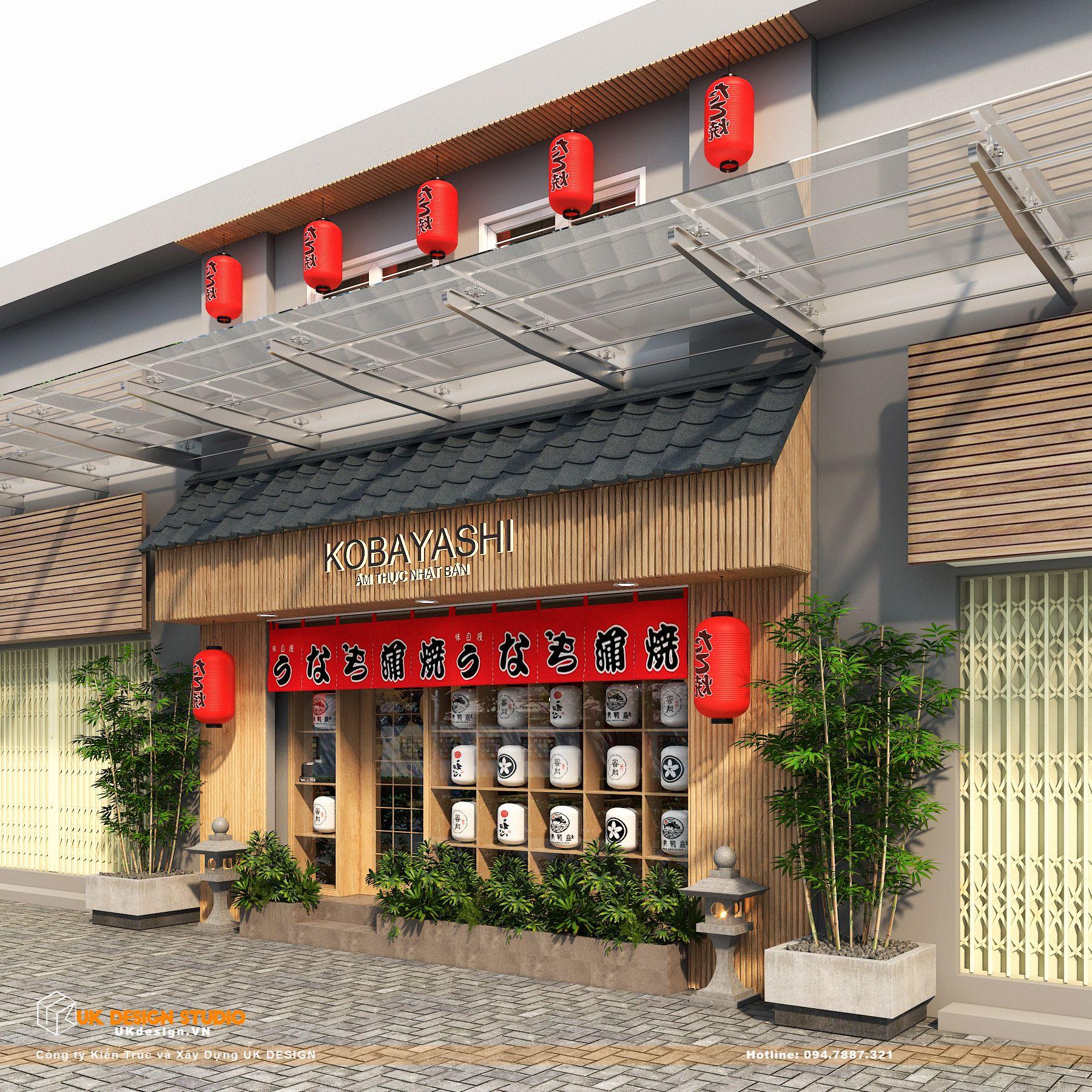 Thiết kế nhà hàng Kiểu Nhật KOBAYASHI 1