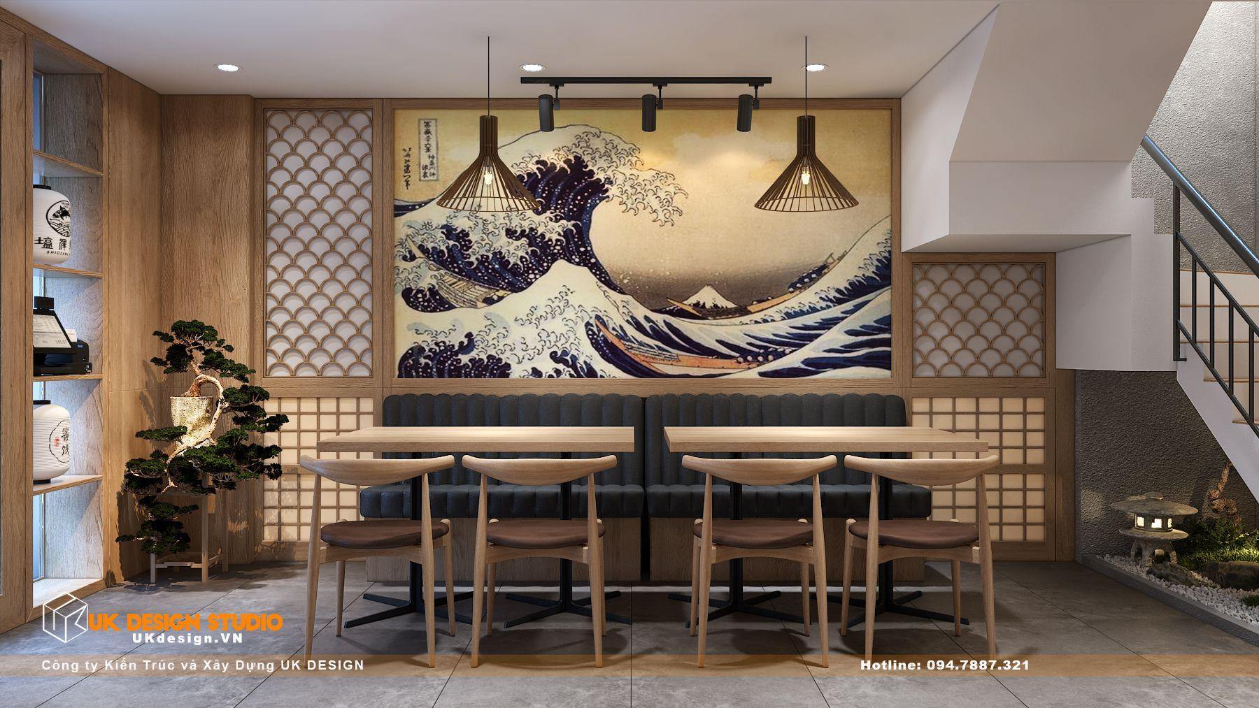 Thiết kế nhà hàng Kiểu Nhật KOBAYASHI 11