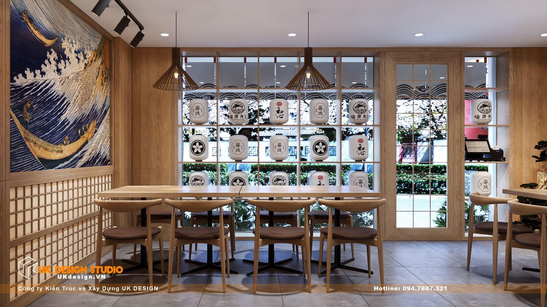 Thiết kế nhà hàng Kiểu Nhật KOBAYASHI 113