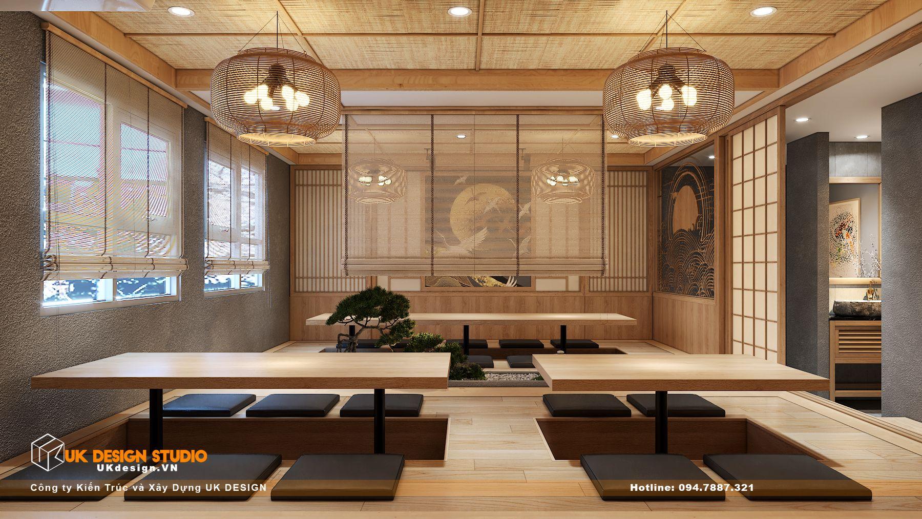 Thiết kế nhà hàng Kiểu Nhật KOBAYASHI 15