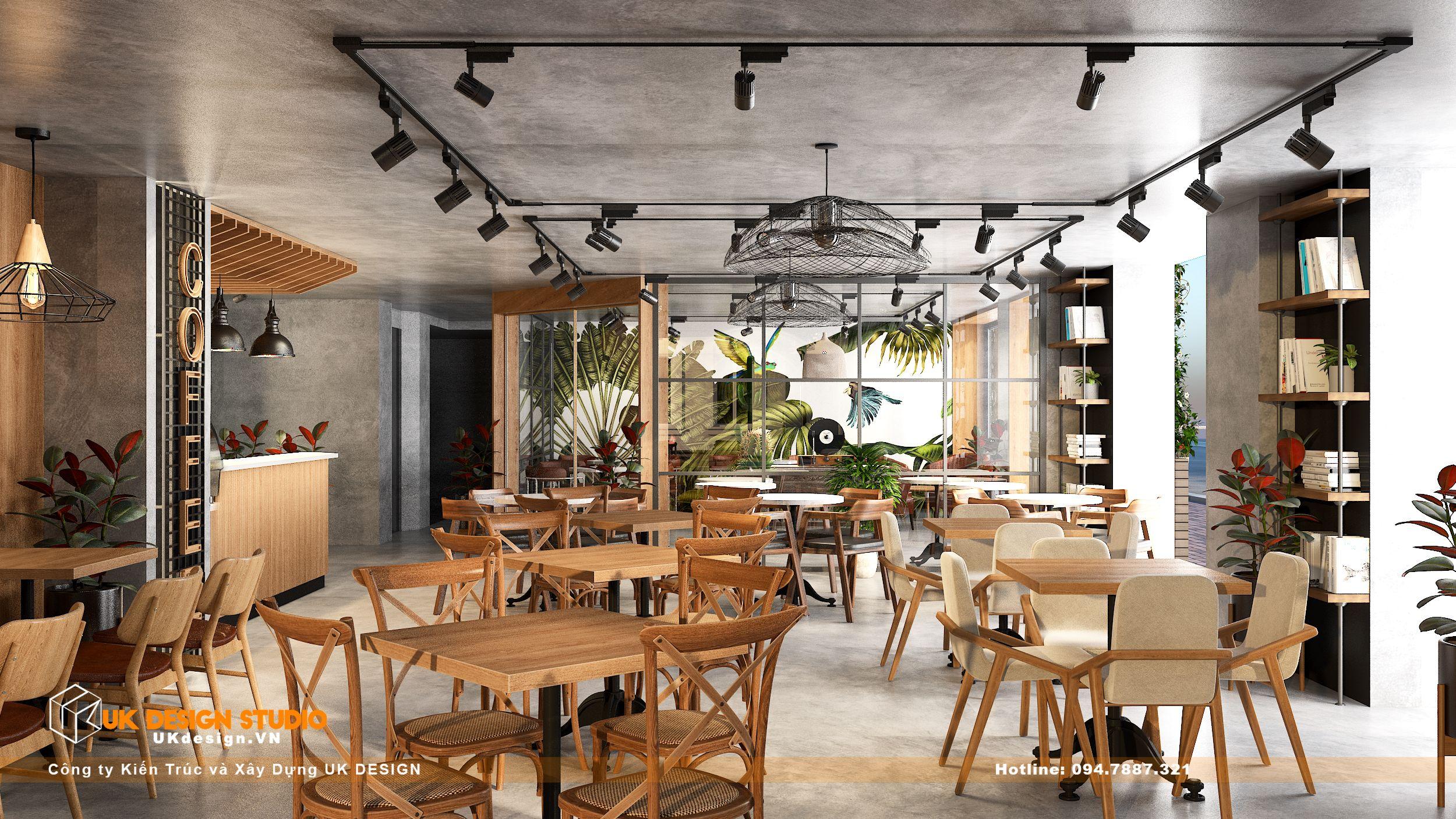 Thiết kế quán Cafe Diện Tích 100m2, Tân Hương, Tân Phú 15