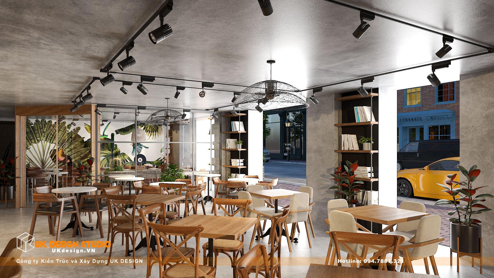 Thiết kế quán Cafe Diện Tích 100m2, Tân Hương, Tân Phú 14