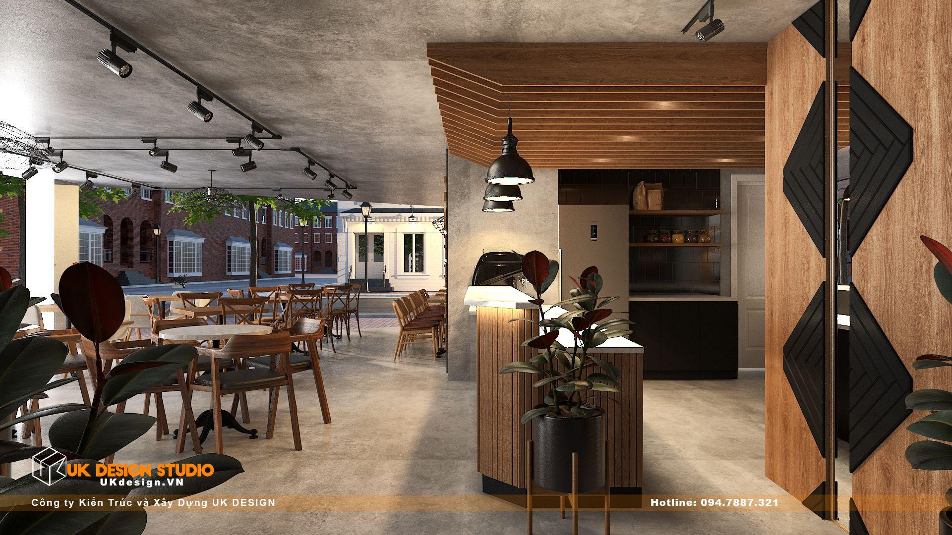 Thiết kế quán Cafe Diện Tích 100m2, Tân Hương, Tân Phú 16