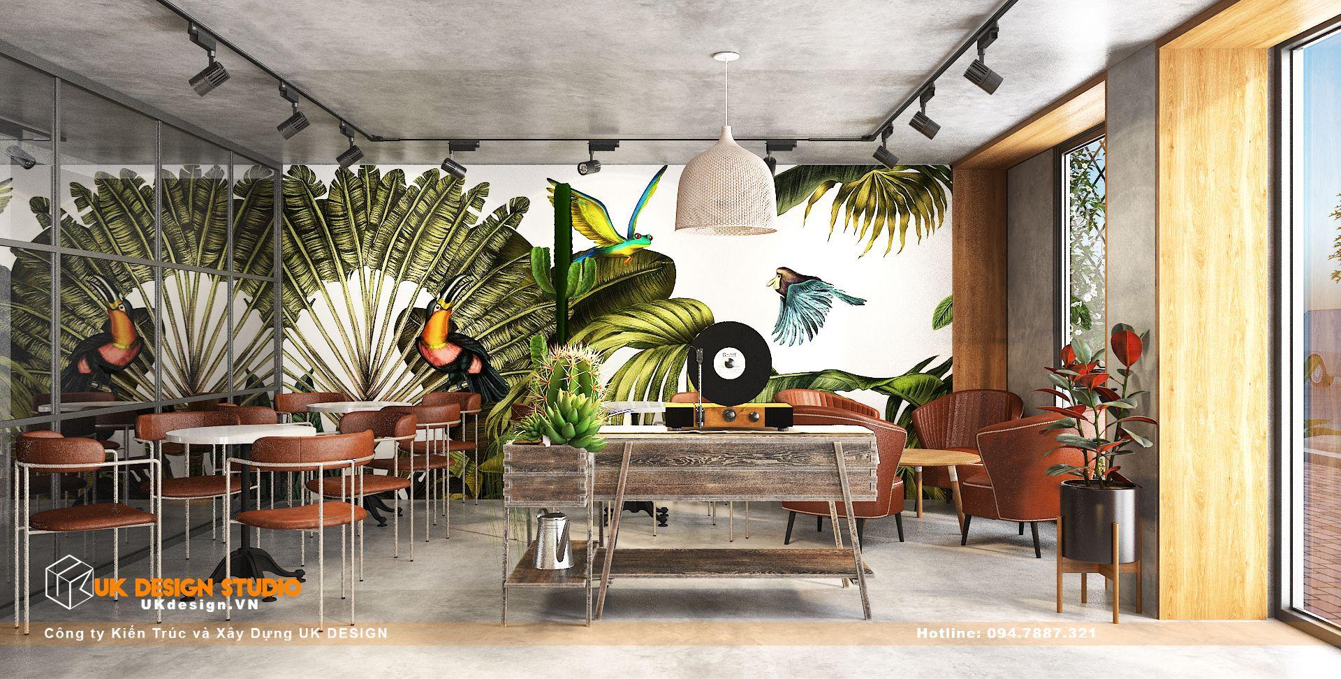 Thiết kế quán Cafe Diện Tích 100m2, Tân Hương, Tân Phú 17