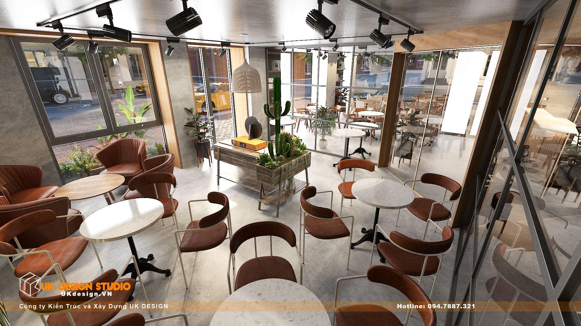 Thiết kế quán Cafe Diện Tích 100m2, Tân Hương, Tân Phú 18