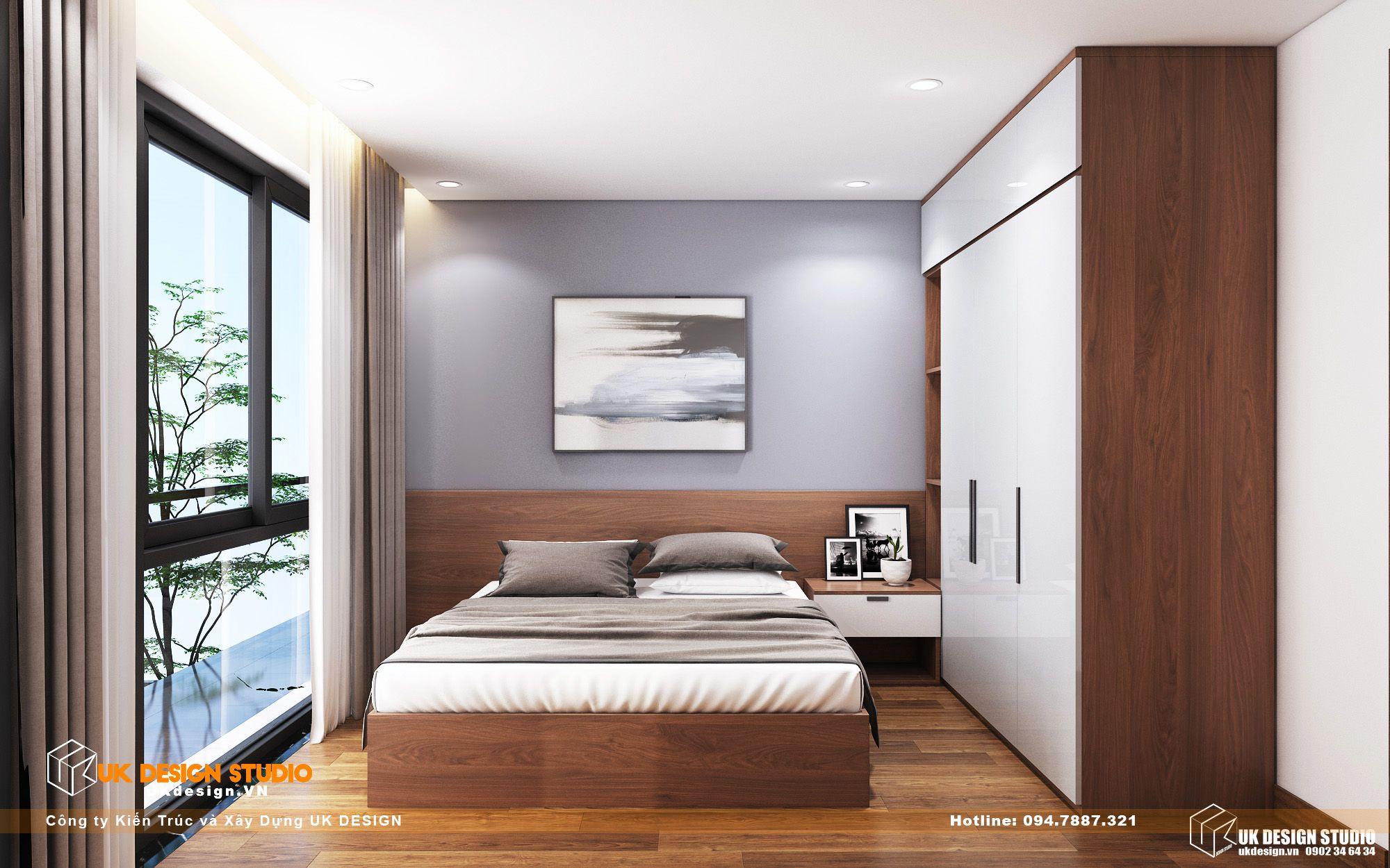 Thiết kế nội thất biệt thự nhà đẹp 3 tầng ở Quận 8 - phòng gia nhan 13